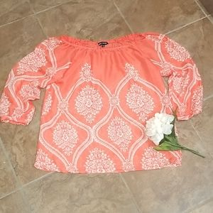 Womens blouse off shoulders size S